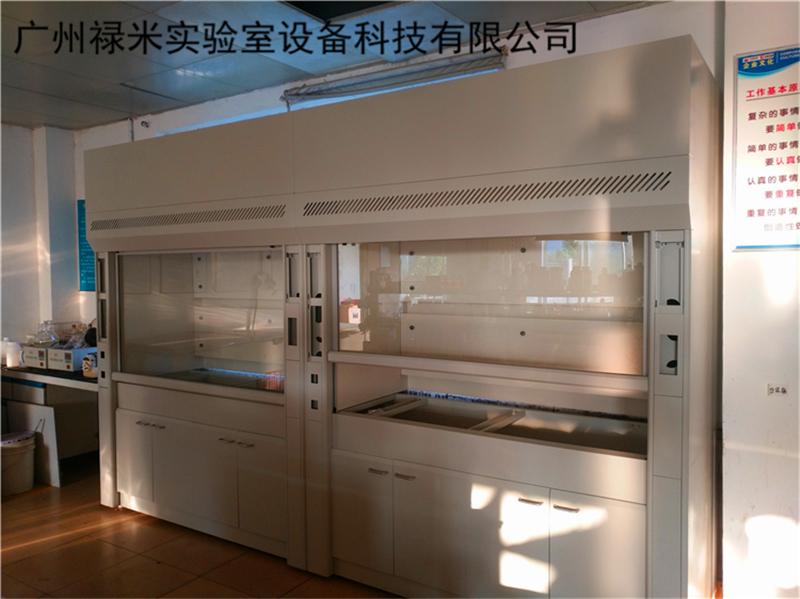 禄米实验室家具安装工程现场图片
