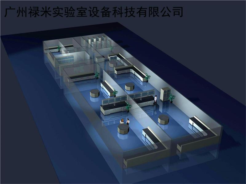 检测实验室规划设计方案分享