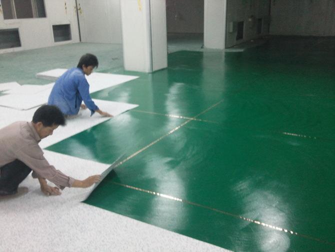 PVC地板施工工艺
