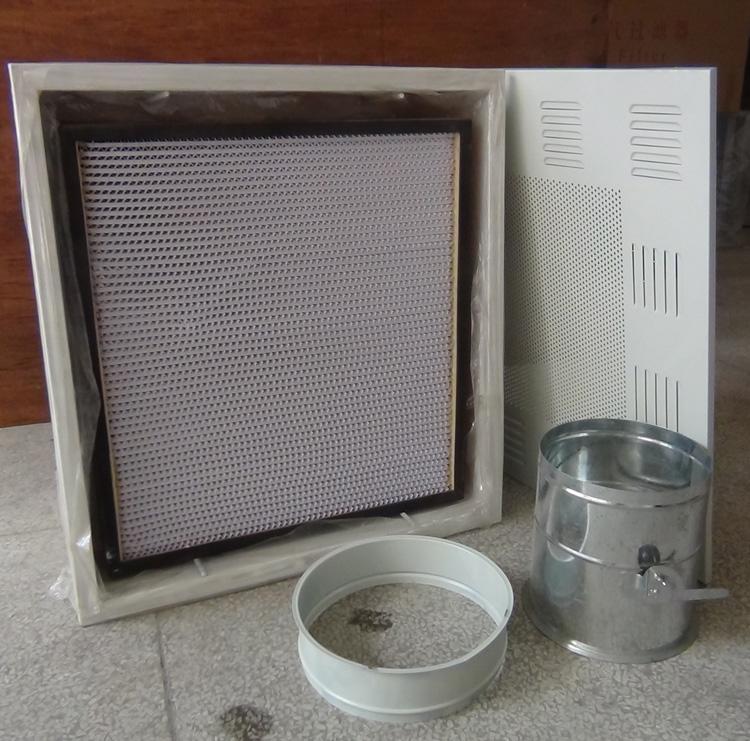 洁净室中高效过滤器要如何安装