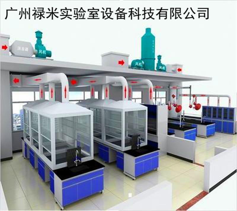 禄米实验台厂家对实验室通风系统的设计要求